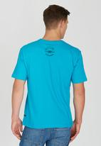Rip Curl - African Anchor T-Shirt Blue