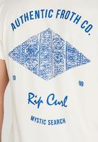 Rip Curl - Auth Froth Co. T-Shirt White