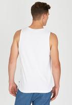 Rip Curl - Plain Pocket Tank White