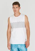 Rip Curl - Frequency Muscle Vest White
