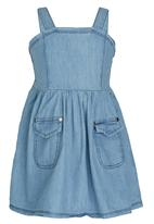 GUESS - Denim Dress Pale Blue