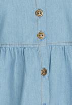 See-Saw - Denim Dress Mid Blue