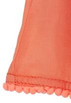 See-Saw - Pom-pom Skirt Coral