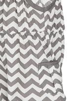 POP CANDY - Girls Printed Zig Zag Jumpsuit Grey