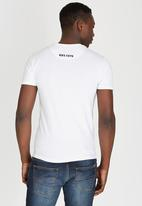 POLO - Classic Atlantic Print Crew-Neck T-Shirt White