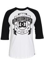 DC - New From Front Raglan T-Shirt Black