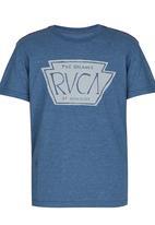 RVCA - Rvca Chest Tee Blue