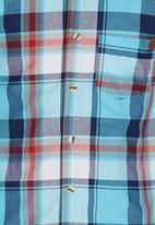 Rebel Republic - Check Shirt Blue