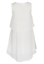 Rebel Republic - Plain Chiffon Dress Milk