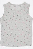 POP CANDY - Sleeveless Vest  Grey