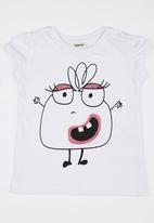 Soobe - Girls  Printed Tee White
