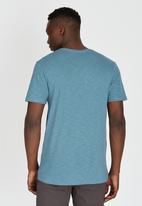 Volcom - Eurostretch T-Shirt Blue