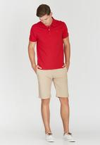 POLO - Stretch Custom Fit Golfer Red