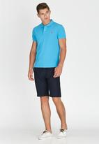 POLO - Classic Pique Golfer Pale Blue