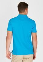 POLO - Stretch Custom Fit Golfer Blue
