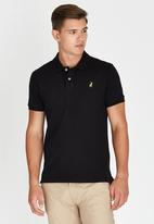 POLO - Limited Edition Pique Golfer Black
