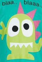 Soobe - Boys  Printed Tee Green