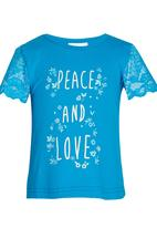 See-Saw - Summer Top Blue
