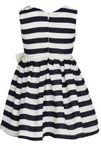 See-Saw - Party Dress with Bow Navy