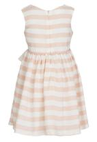 See-Saw - Party Dress with Bow Mid Pink