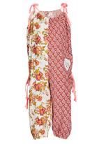 Eco Punk - Printed Jumpsuit Mid Pink