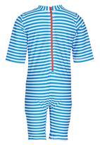 POP CANDY - Stripe Swimsuit Blue