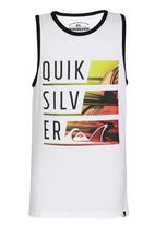 Quiksilver - Sinatra 2 Boys Vest Black and White