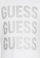 GUESS - 3 Guess Tee White
