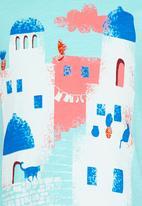 Soobe - Printed Tee Blue