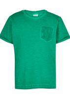 Soobe - Boys  Tee With Pocket Detail Green