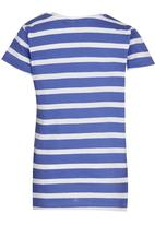 Soobe - Printed Style Icon Tee Blue