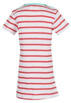 POP CANDY - Printed Striped Dress Red