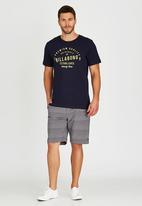 Billabong  - Originals Short Sleeve T-Shirt Navy