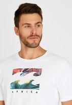 Billabong  - Palm Wave Short Sleeve T-Shirt White
