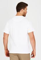JEEP - Short Sleeve Printed T-Shirt White