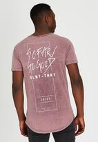 Silent Theory - Fairness T-Shirt Dark Purple