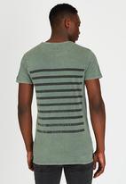 St Goliath - Spine T-Shirt Green