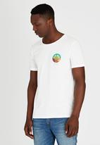 Wrangler - Cacti T-Shirt Off White