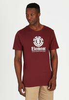 Element - Vertical Short-Sleeve T-Shirt Red