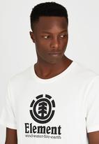 Element - Vertical Short-Sleeve T-Shirt Off White