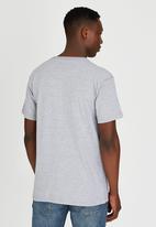 JEEP - Short Sleeve Printed T-Shirt Grey