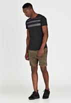 S.P.C.C. - Ascending Line T-Shirt Black
