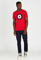 Ben Sherman - Short Sleeve T-Shirt Red