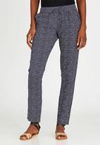 JEEP - Mosaic Printed Pants Mid Blue