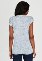 JEEP - Fashion Tee Blue and White
