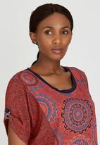 Maya Prass - Rania Pullover Top Red
