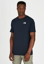 The North Face - Short Sleeve Red Box T-Shirt Navy