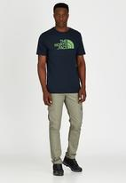 The North Face - M S/S easy tee - Urban navy/fiery red