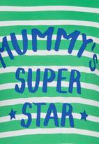 Soobe - Printed Mummys Super Star Tee Green