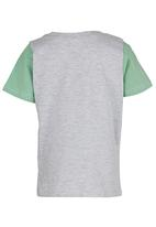 Pickalilly - Boys Printed Tee Mid Green